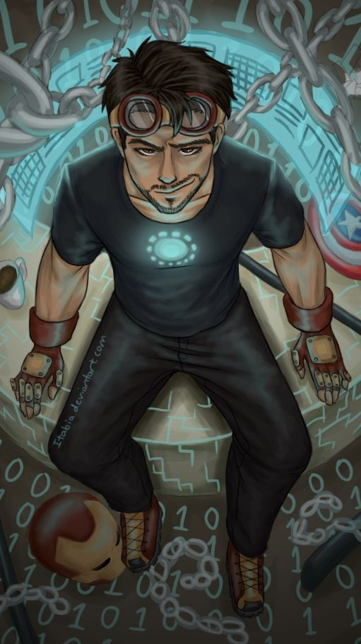 Tony Stark Cartoon Wallpapers Posted By John Peltier