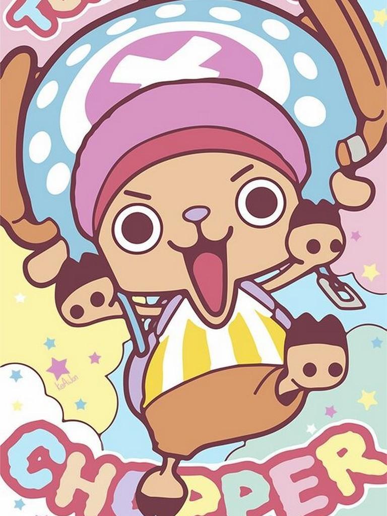 Iphone Chopper One Piece Wallpaper Hd Doraemon