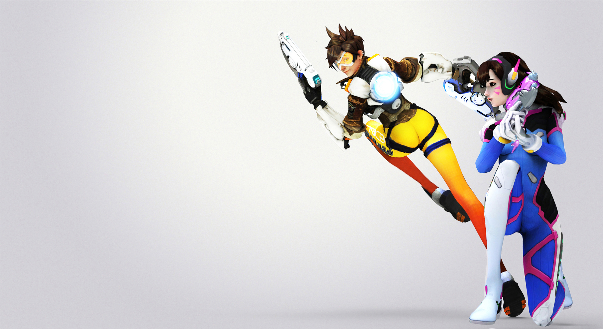 Overwatch Tracer Wallpapers Free Gaming HD Wallpaper