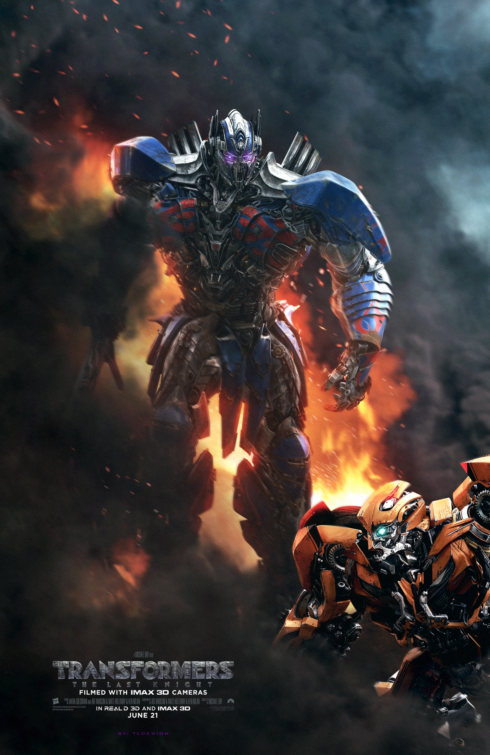Transformers The Last Knight Optimus Prime Wallpaper Posted