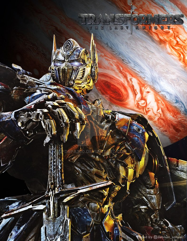 Transformers The Last Knight Optimus Prime Wallpaper Posted By