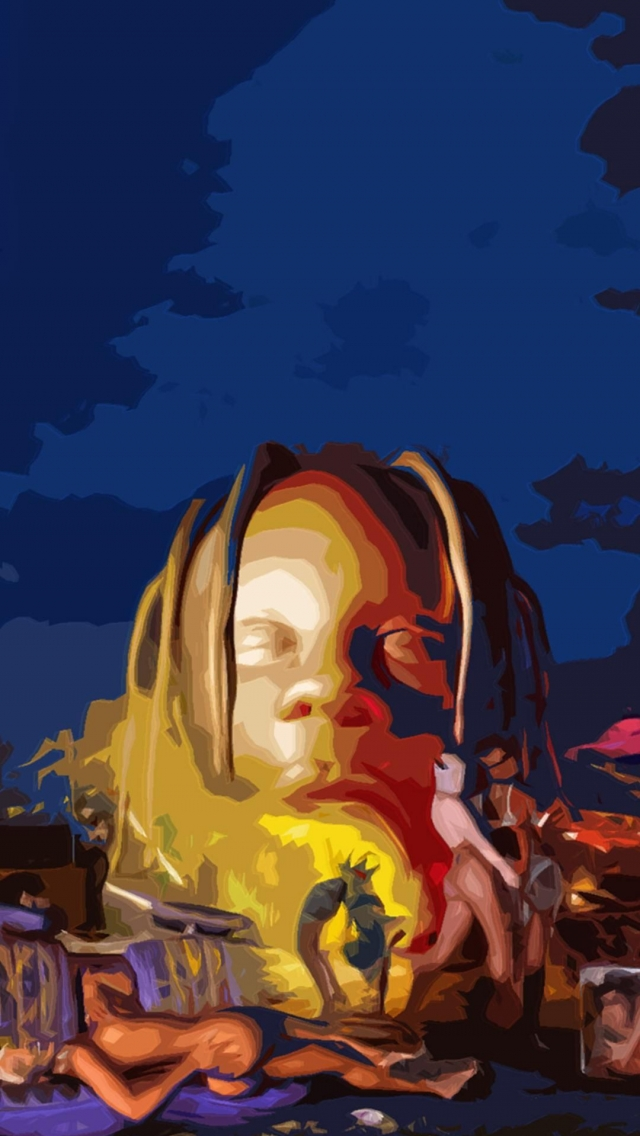 Travis Scott Wallpaper Iphone Posted By Zoey Sellers