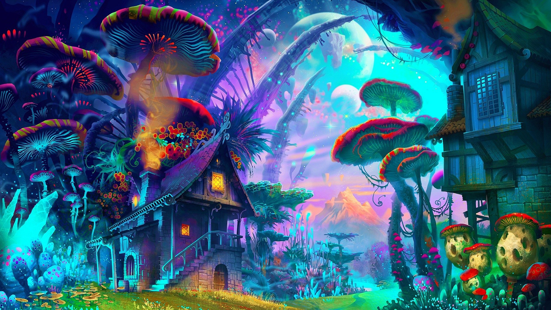 36+ Trippy Background Pictures on WallpaperSafari