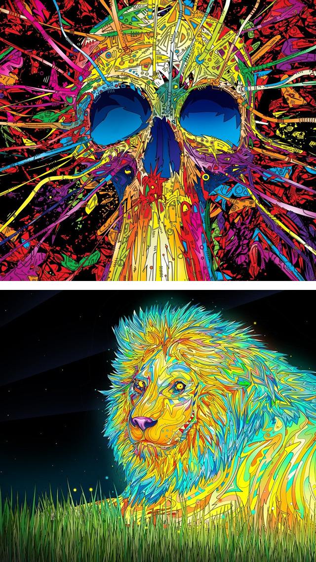 Trippy Iphone Wallpapers Hd Posted By Zoey Anderson