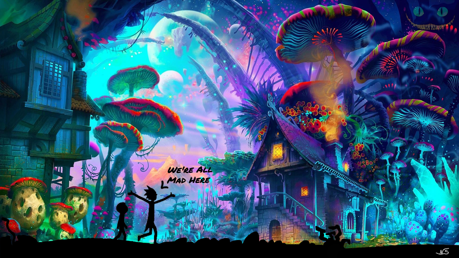 Trippy Rick And Morty Wallpapers Posted By Michelle Sellers