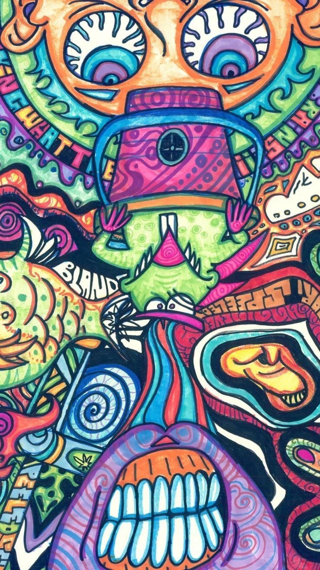 Trippy Stoner Wallpaper Posted By Sarah Mercado