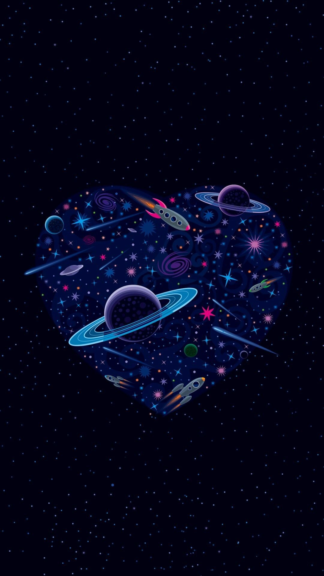Space iPhone wallpaper in 2019 Galaxy wallpaper Tumblr