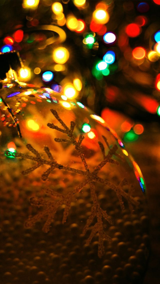 Christmas Sparkle Light Background Bright Christmas
