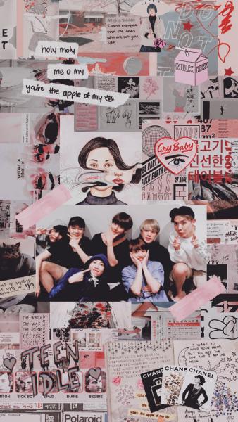 bts collage Tumblr