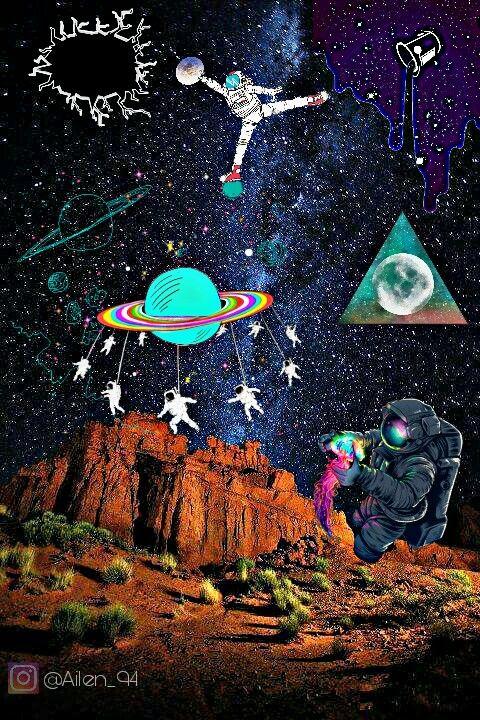 Wallpaper Galaxy Tumblr
