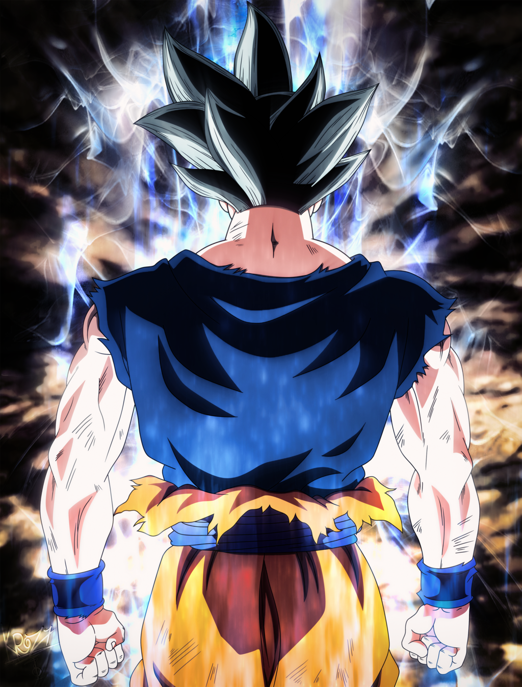 Ultra Instinct Goku Wallpaper 1920x1080 Posted By Sarah Peltier