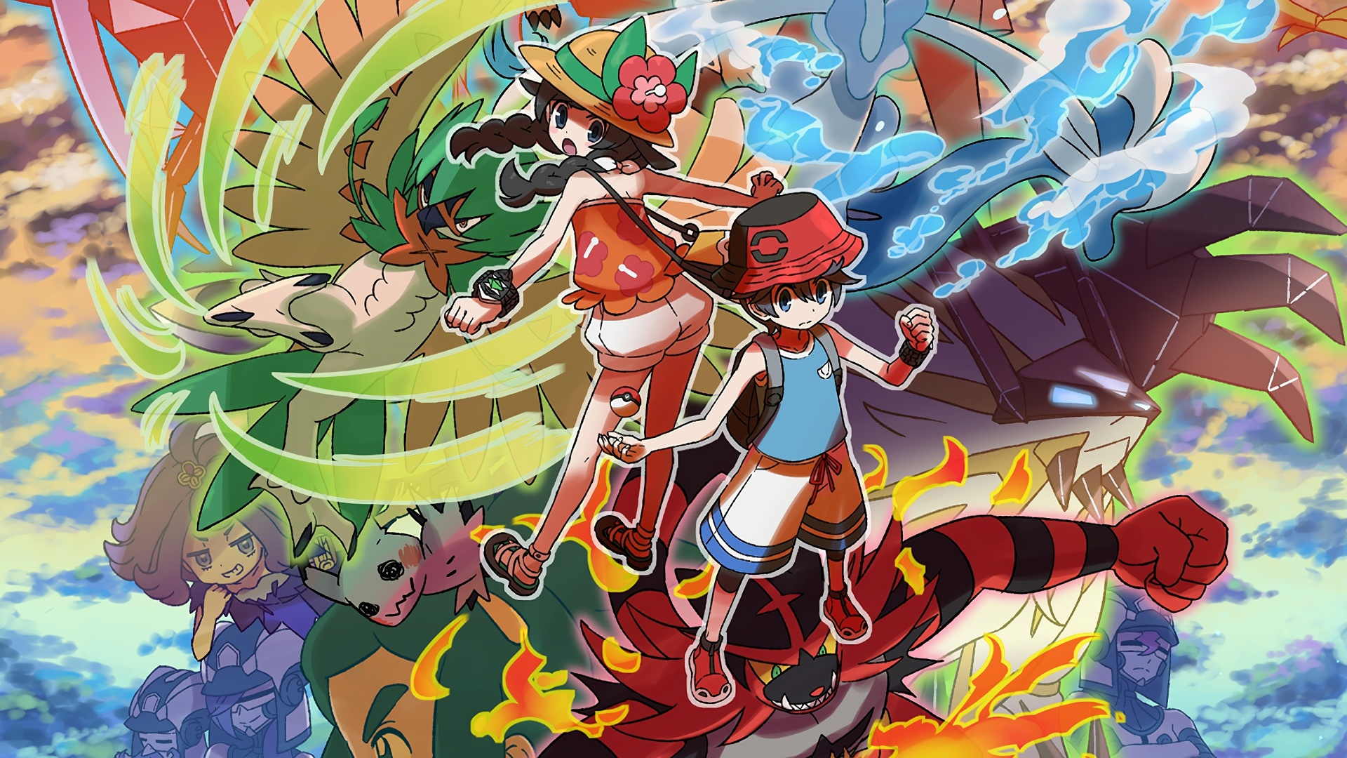 Ultra Sun And Moon Wallpaper Posted By Christopher Simpson