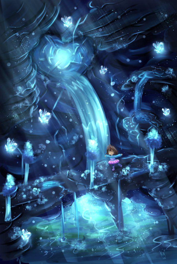 Undertale Waterfall Wallpaper Posted By Zoey Walker