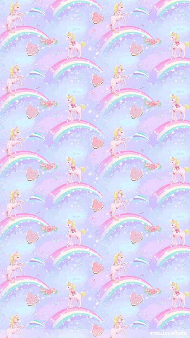 Unicorn And Rainbow Wallpaper Posted By Michelle Peltier