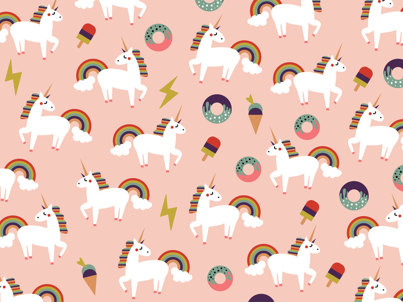 Unicorn Background Wallpaper Posted By Ryan Mercado