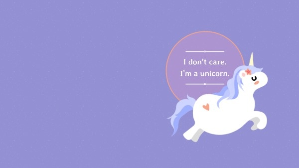 Im A Unicorn Desktop Wallpaper Free Wallpaper Maker to