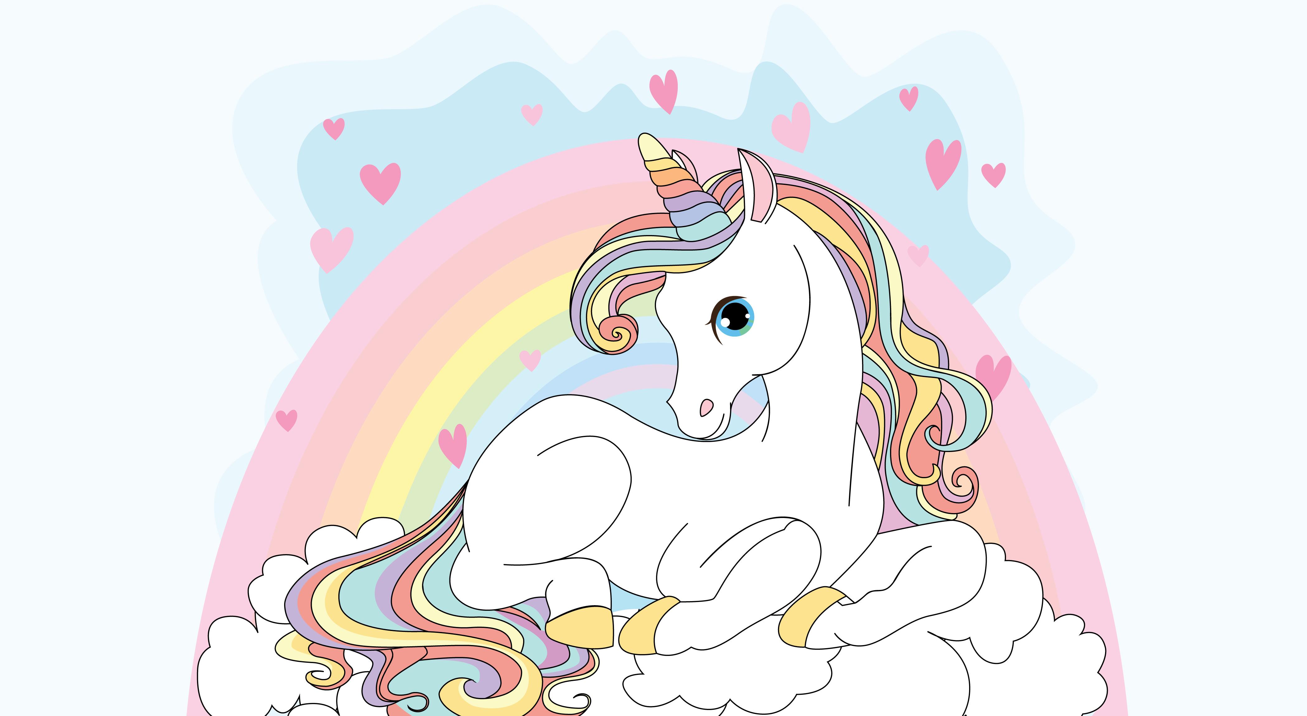 Top Five Gambar Unicorn Kartun Hd