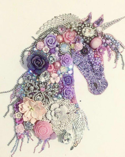 Unicorn Glitter Wallpaper Posted By Christopher Sellers