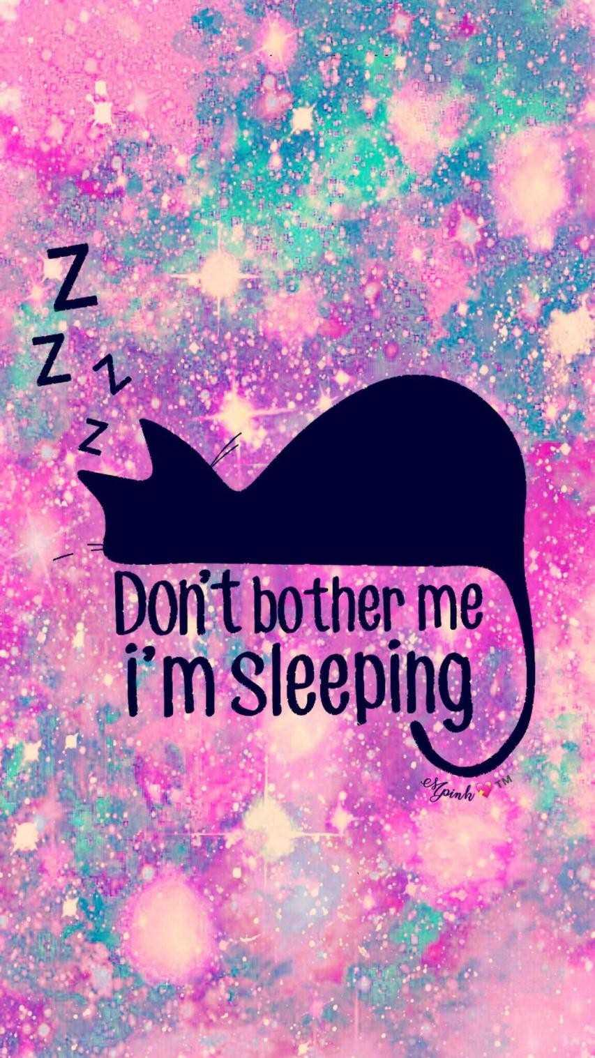 Unicorn Glitter Wallpaper Do Not Disturb Im Sleeping, Hd