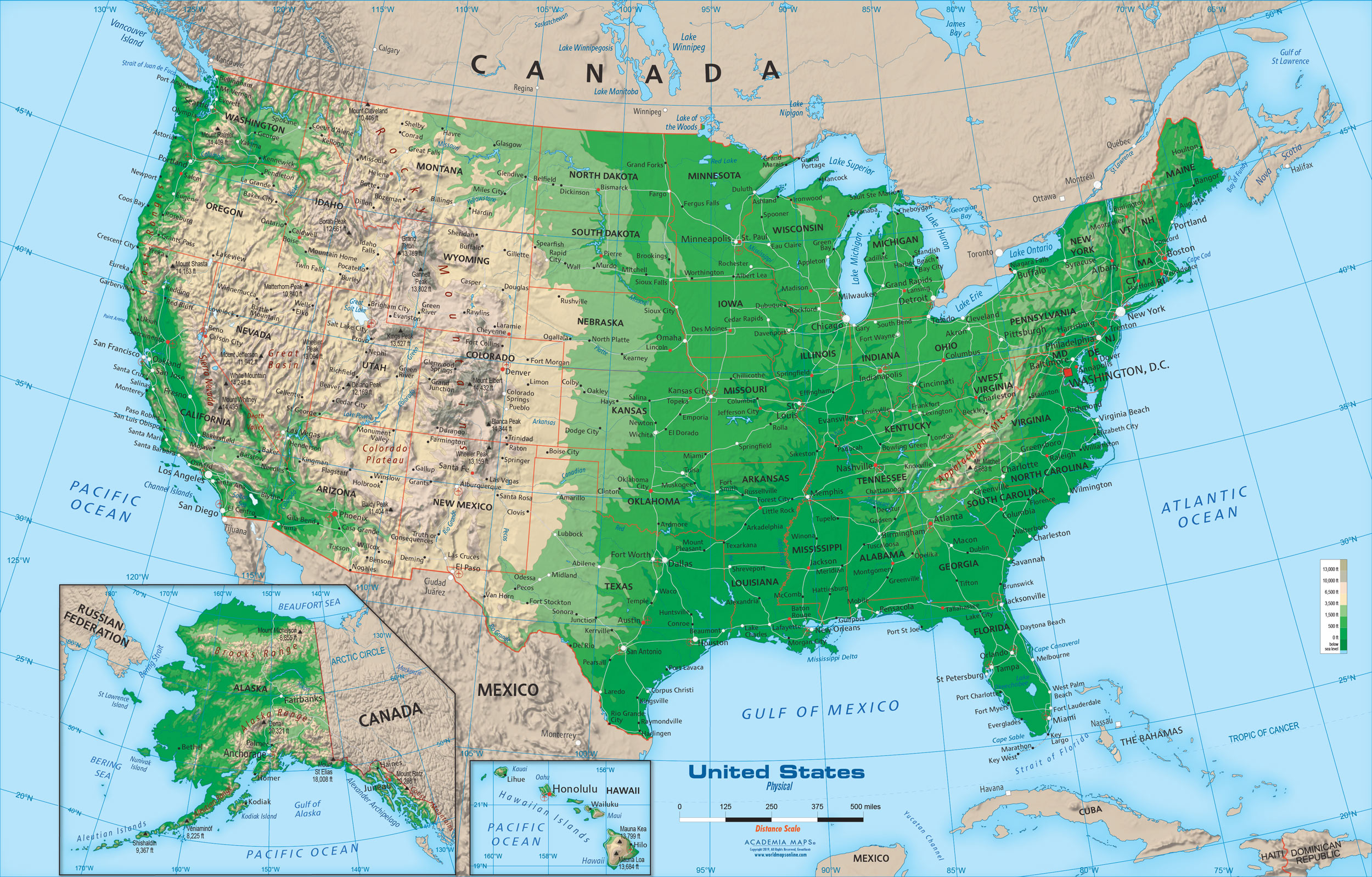 Image of: Us Map Mural Posted By Zoey Sellers