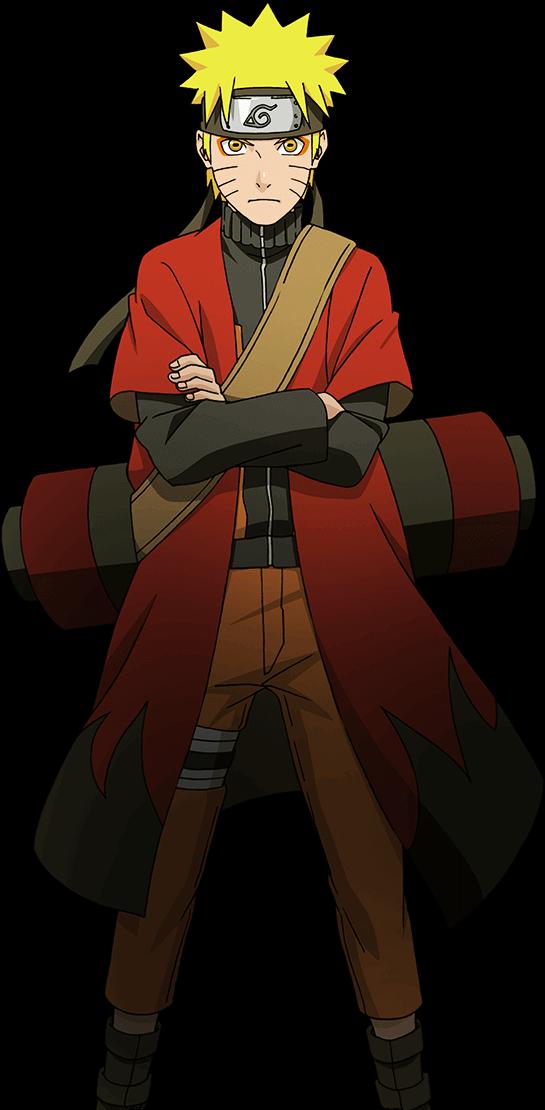 Naruto Uzumaki Sage Mode render Naruto Mobile by