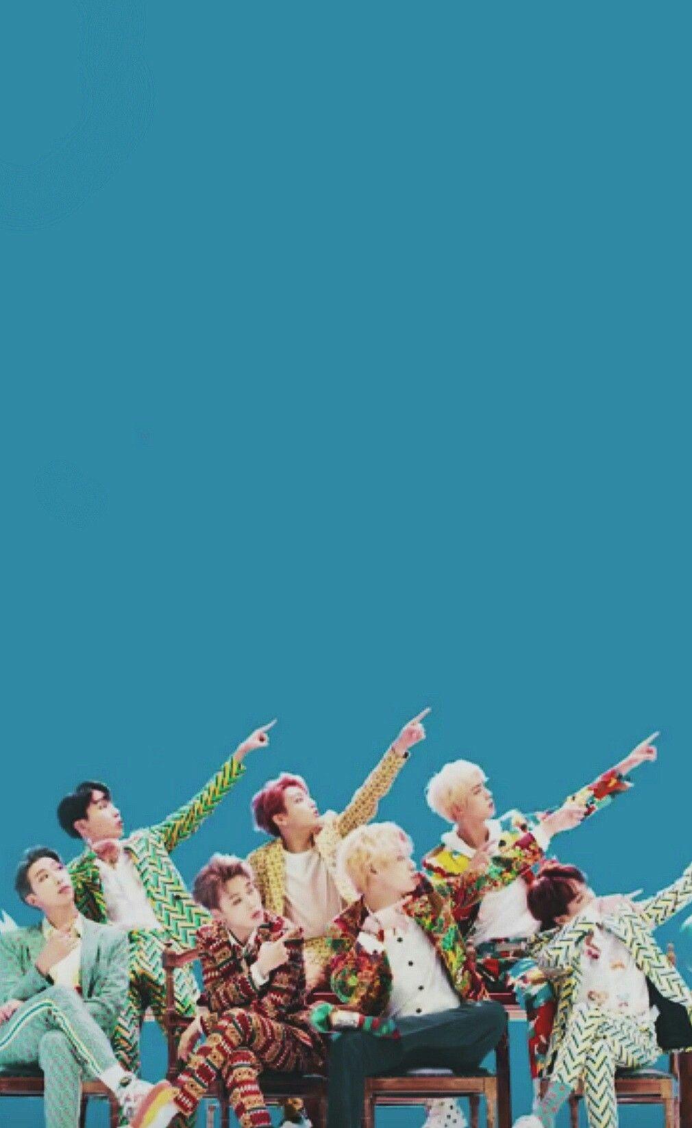 BTS LOVE YOURSELF Answer Jin, Suga, J Hope, RM, Jimin, V y