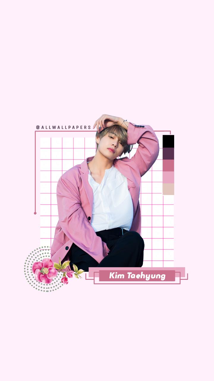 BTS V wallpaper lockscreen for lollycraft I hope yo