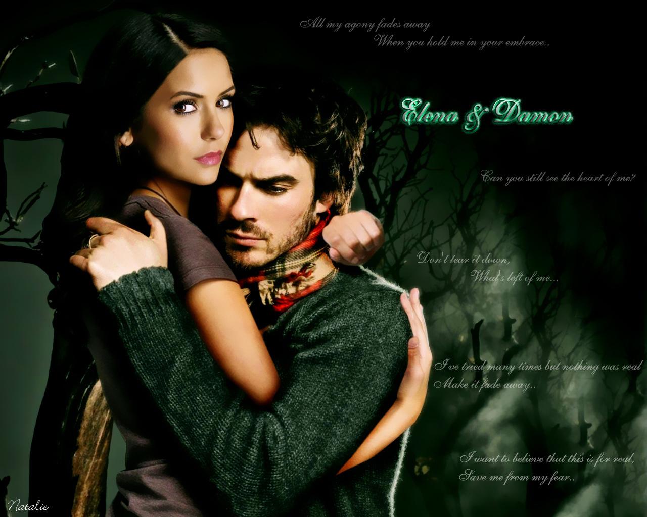 Vampire Diaries Damon Wallpaper Iphone
