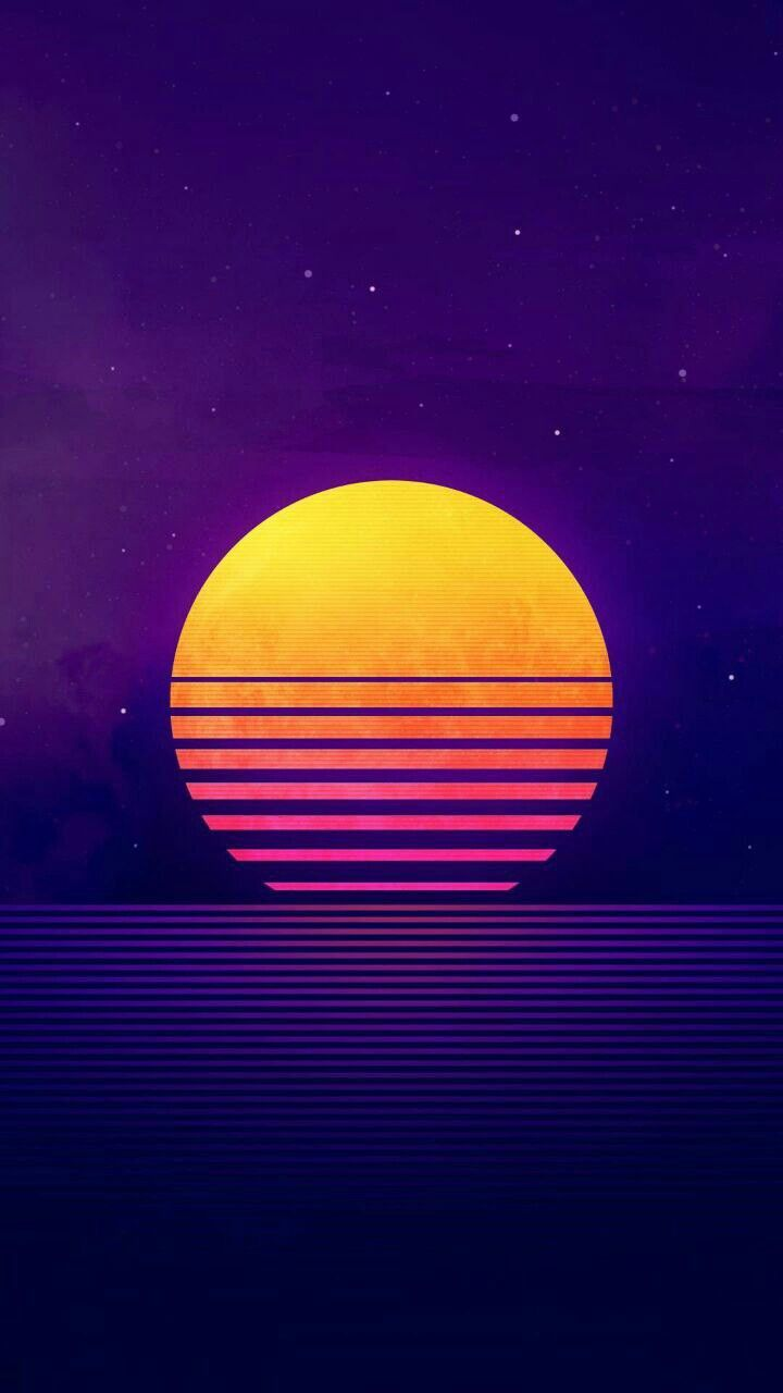 Vaporwave Beach Wallpaper Posted By Michelle Cunningham