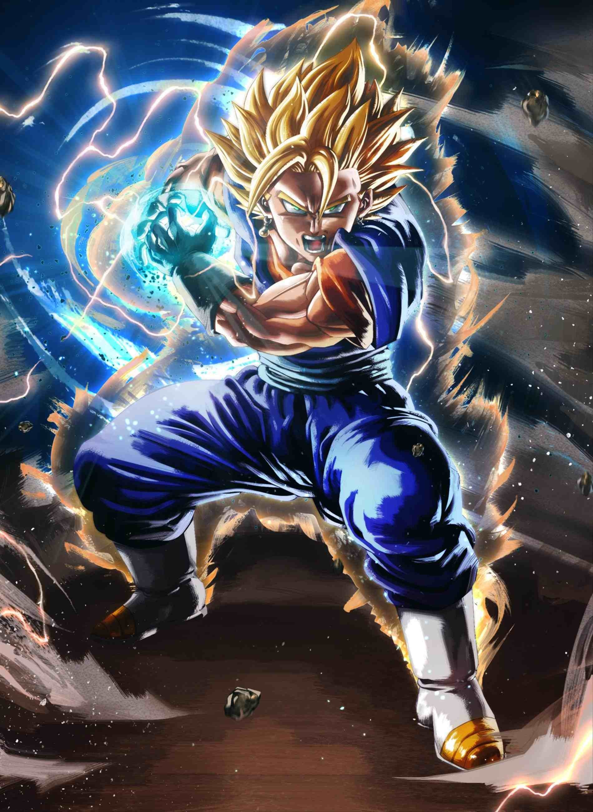 Vegito Blue Wallpaper Posted By Michelle Thompson