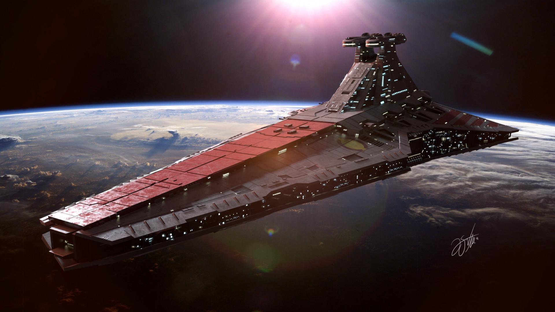 UNSC Infinity vs venator class star destroyer SpaceBattles