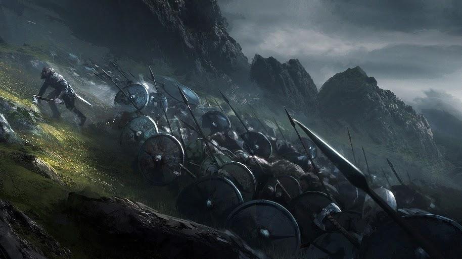 Vikings Wallpaper 4k Posted By Michelle Peltier