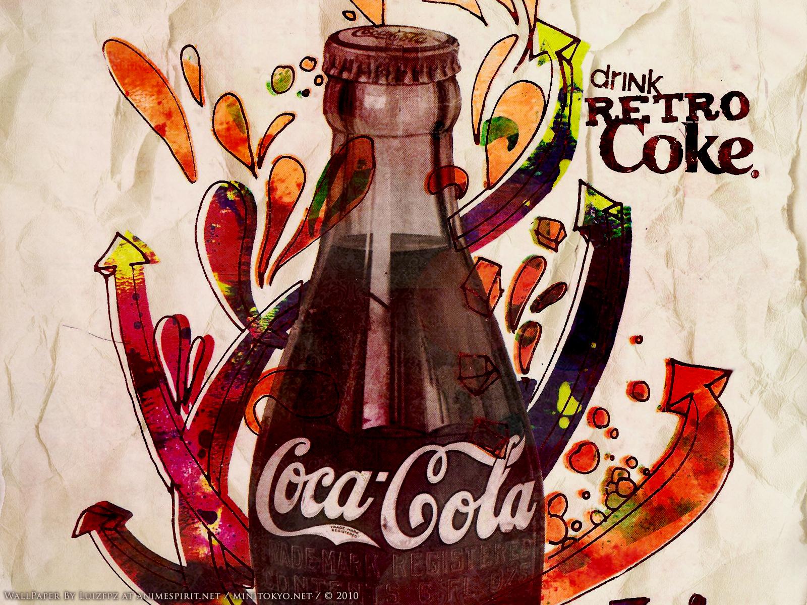 Coca Cola Wallpaper and Scan Gallery Minitokyo
