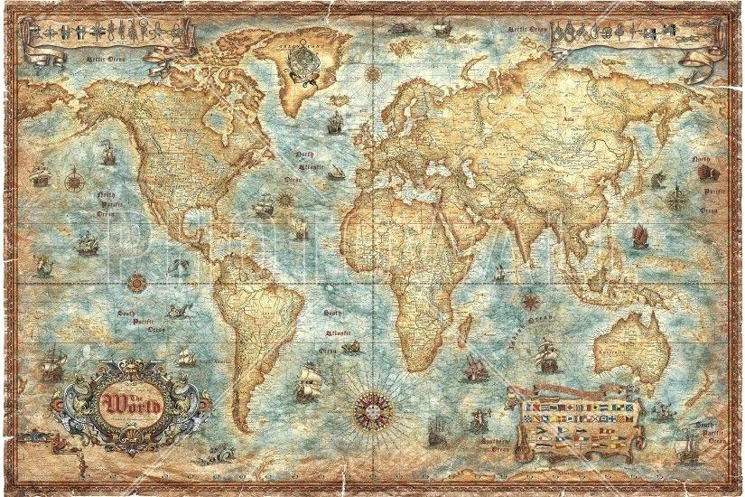 Vintage Maps Wallpaper Posted By Ryan Walker