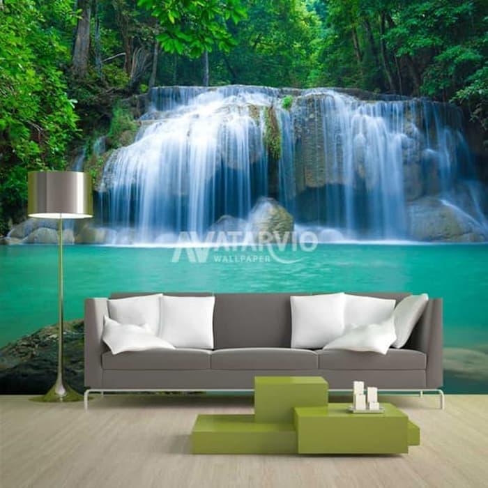 Jual Wallpaper Dinding Custom 3D 3 Dimensi Pemandangan Alam Air Terjun 3 Kota Pekalongan Skincare Dokter Jogja Tokopedia