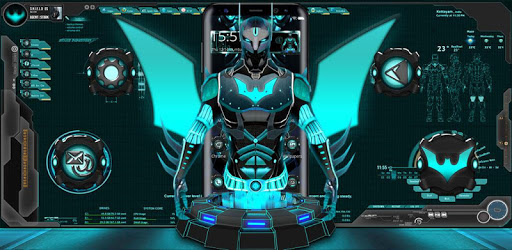3D Tech Hero Theme Apps on Google Play