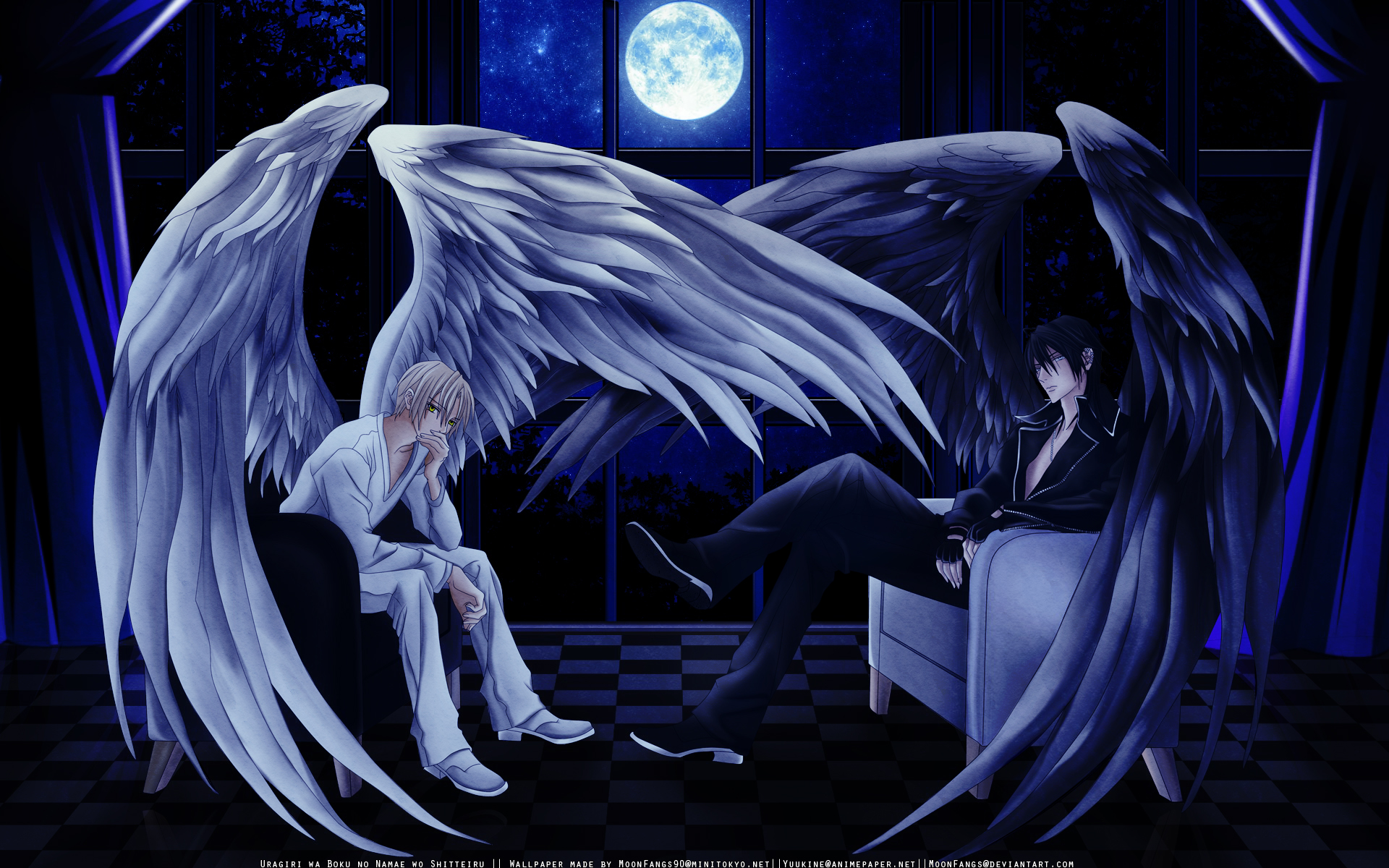 Wallpaper Anime Angel Posted By Sarah Cunningham