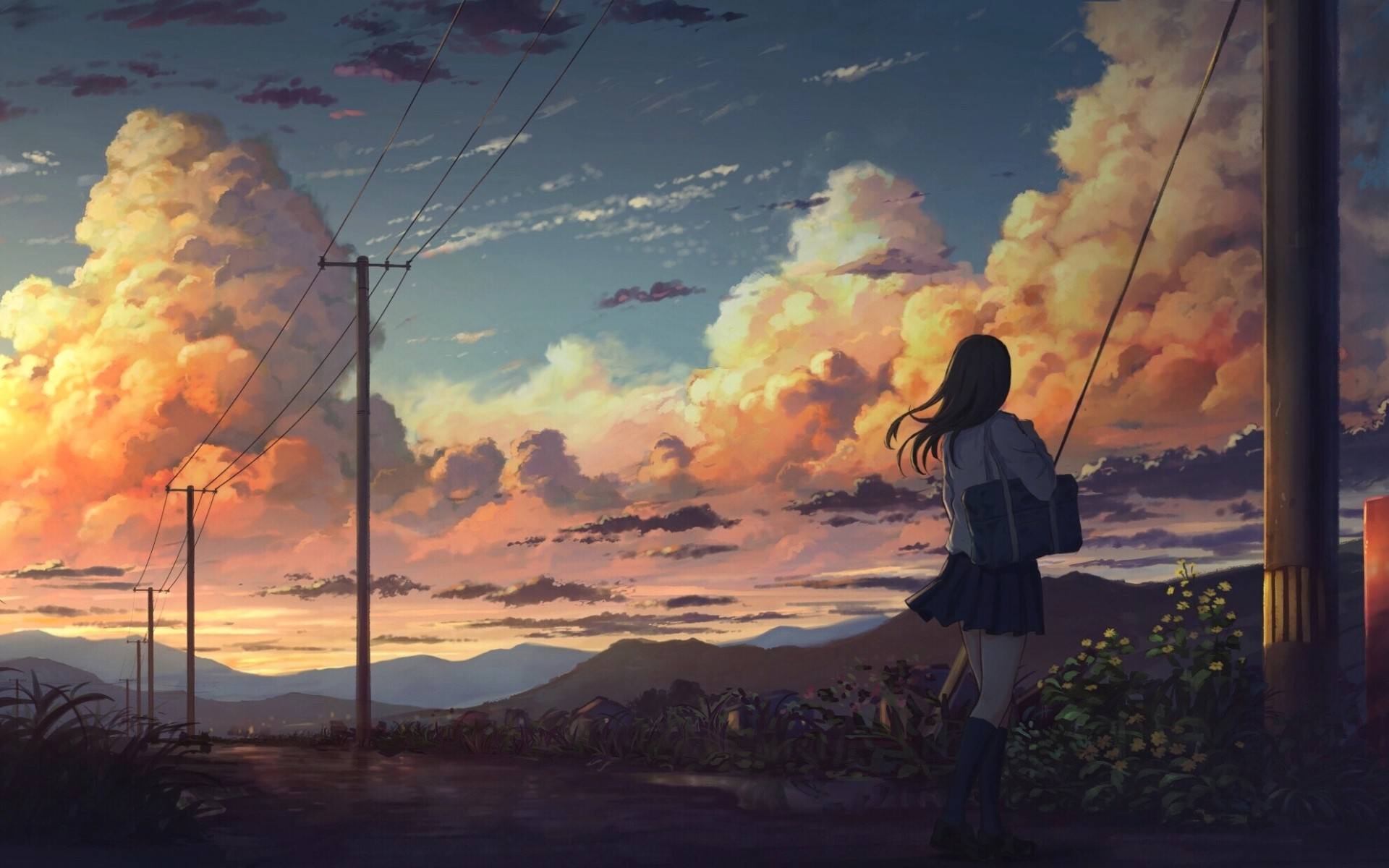 Wallpaper Anime Scenery Posted By Sarah Simpson