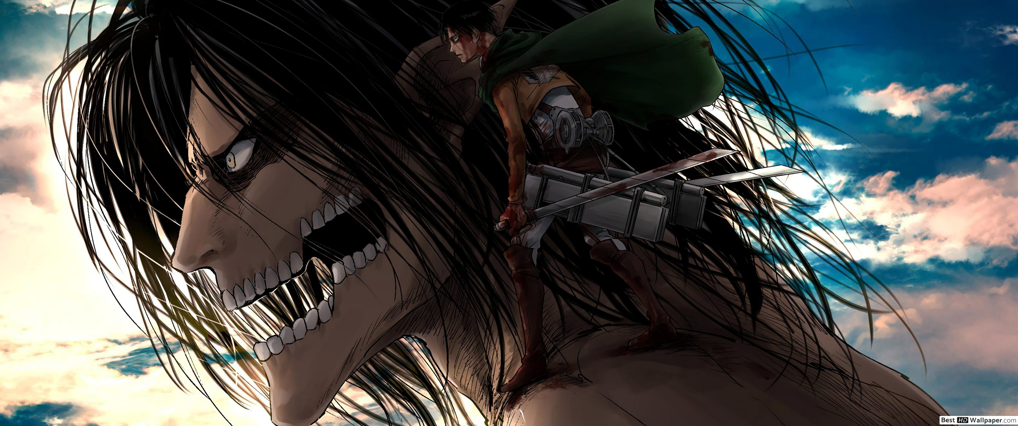 Wallpaper Attack On Titan Posted By Christopher Anderson