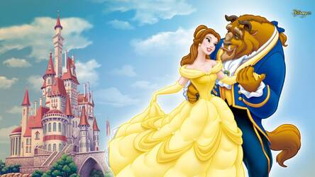 Wallpaper Beauty And The Beast Posted By Ethan Tremblay