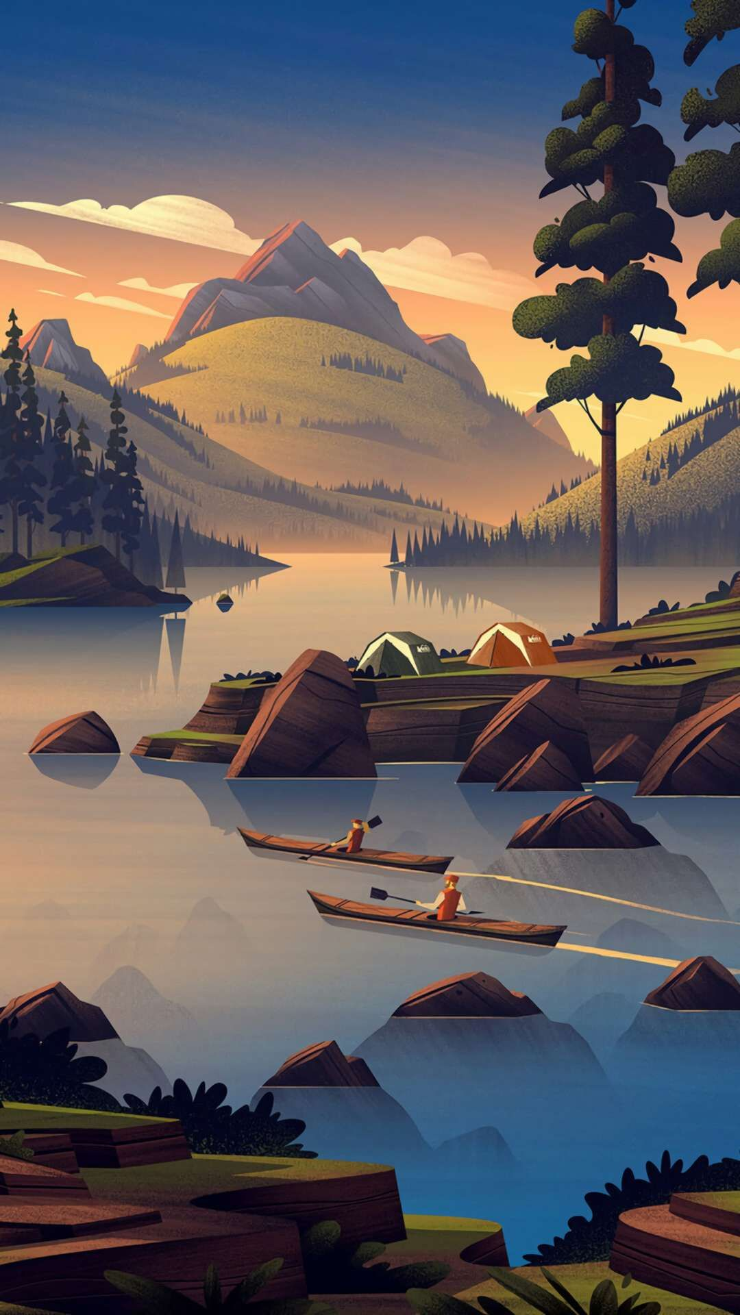 Wallpaper Camping Posted By Christopher Simpson