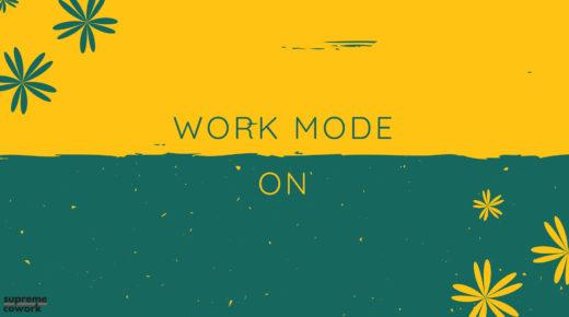 Work Mode On HD Desktop Wallpaper Background download