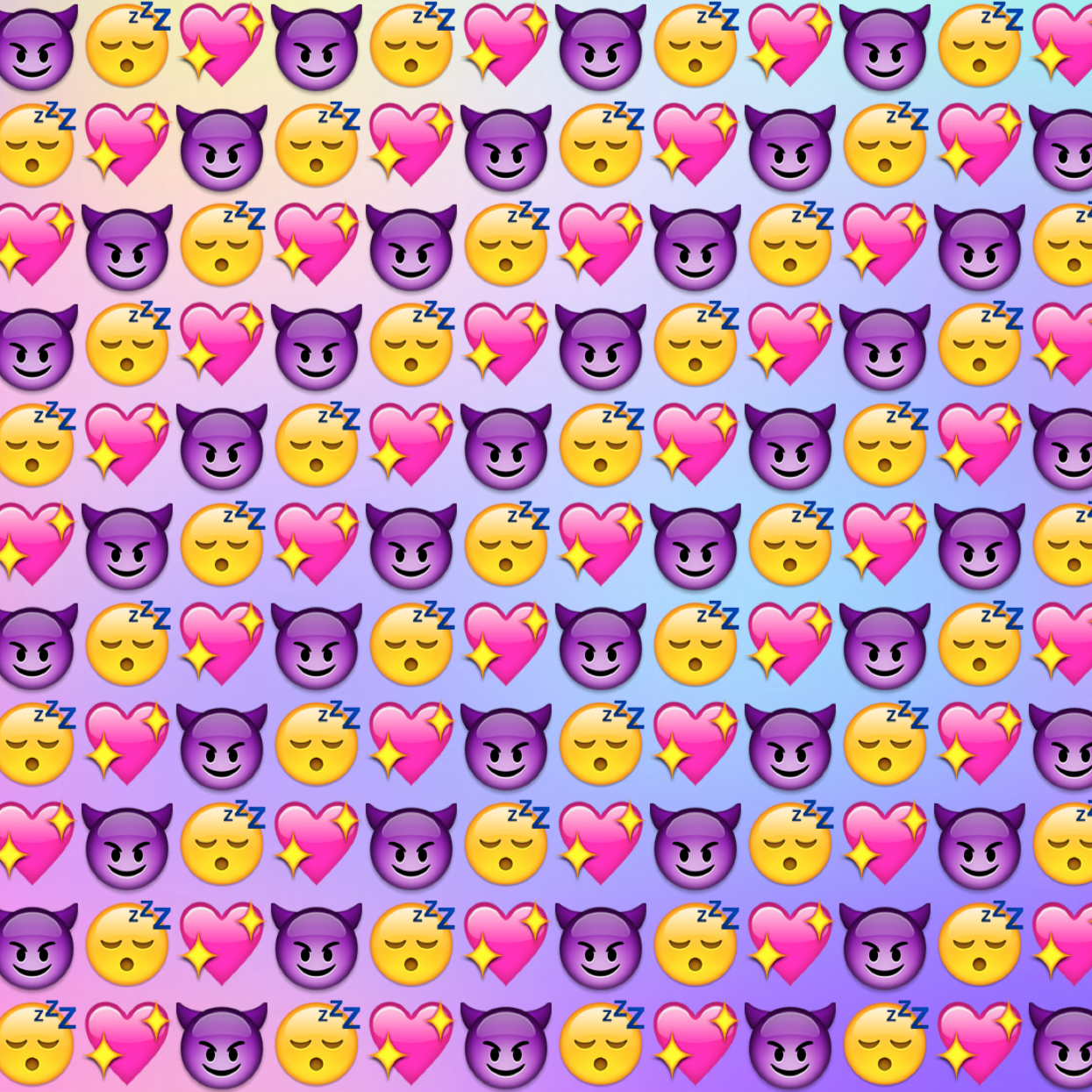 Image about pretty in Custom Made Emoji Backgrounds by Johanna