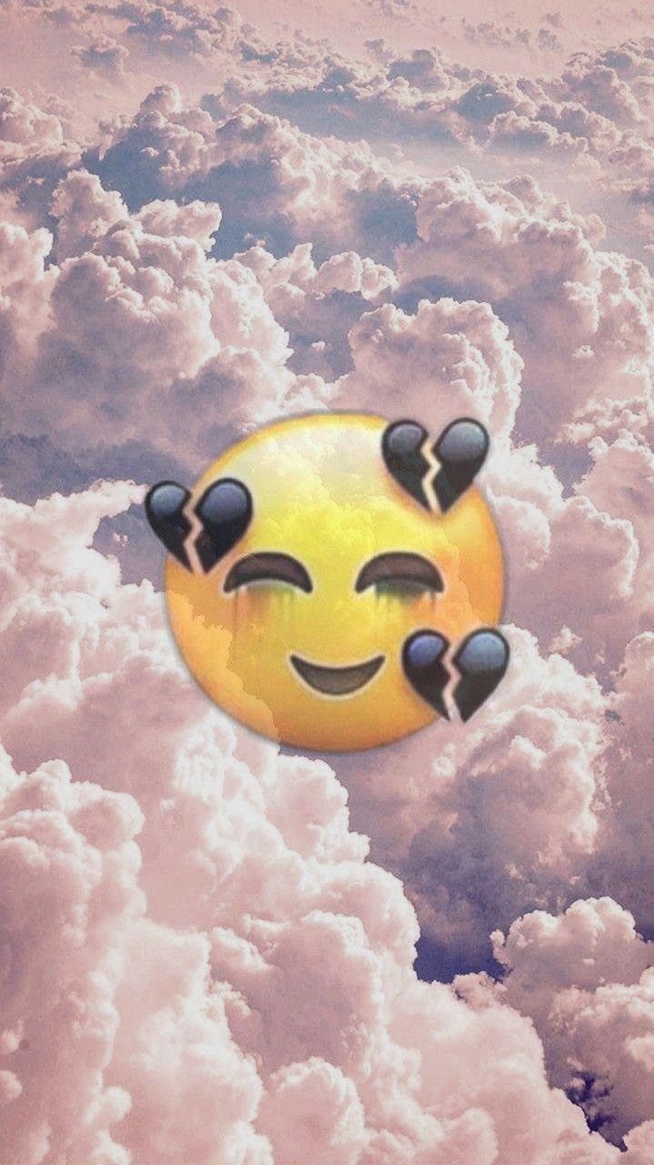 wallpaper emoji iphone cute Image by Amelia Seitz