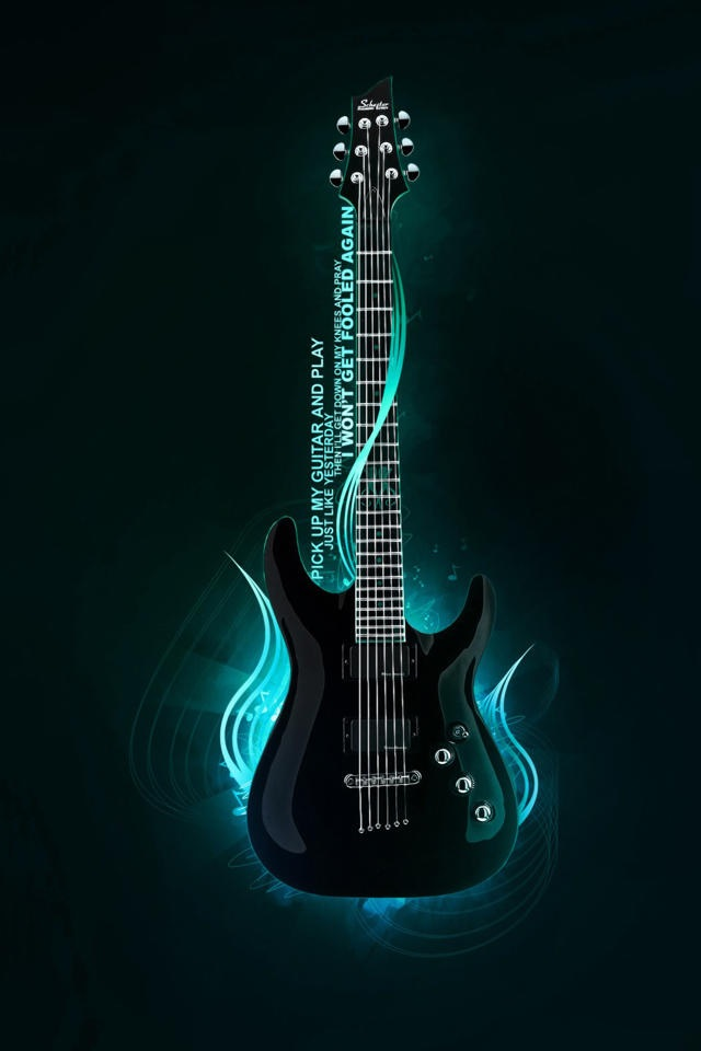 Wallpaper Guitar Posted By Samantha Walker
