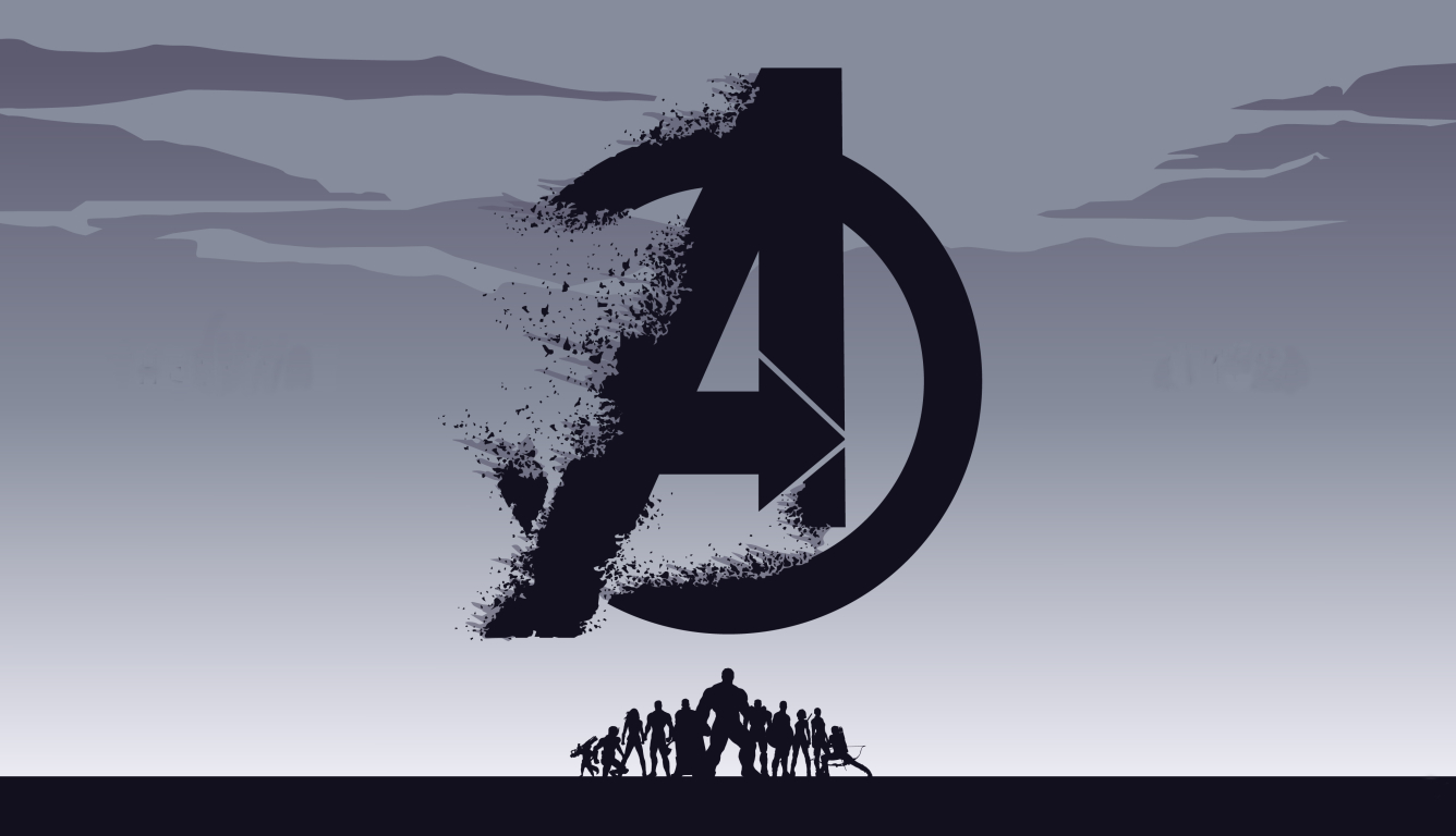 1336x768 Avengers Endgame 4K Background HD Laptop Wallpaper