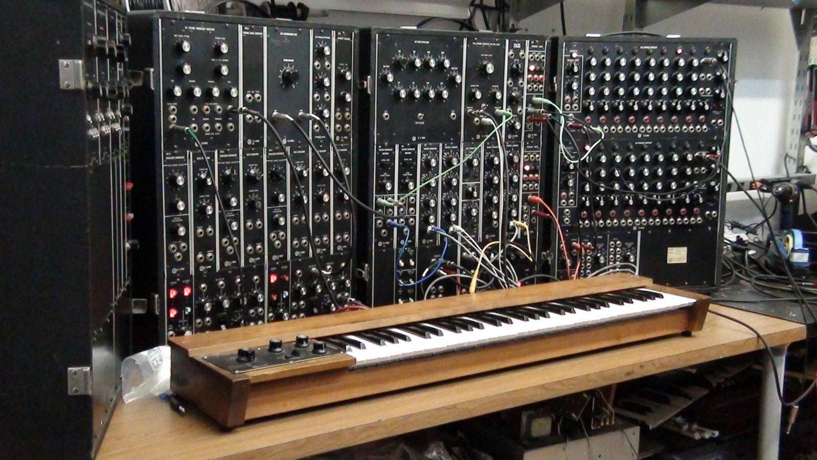 Moog Synthesizer Wallpaper
