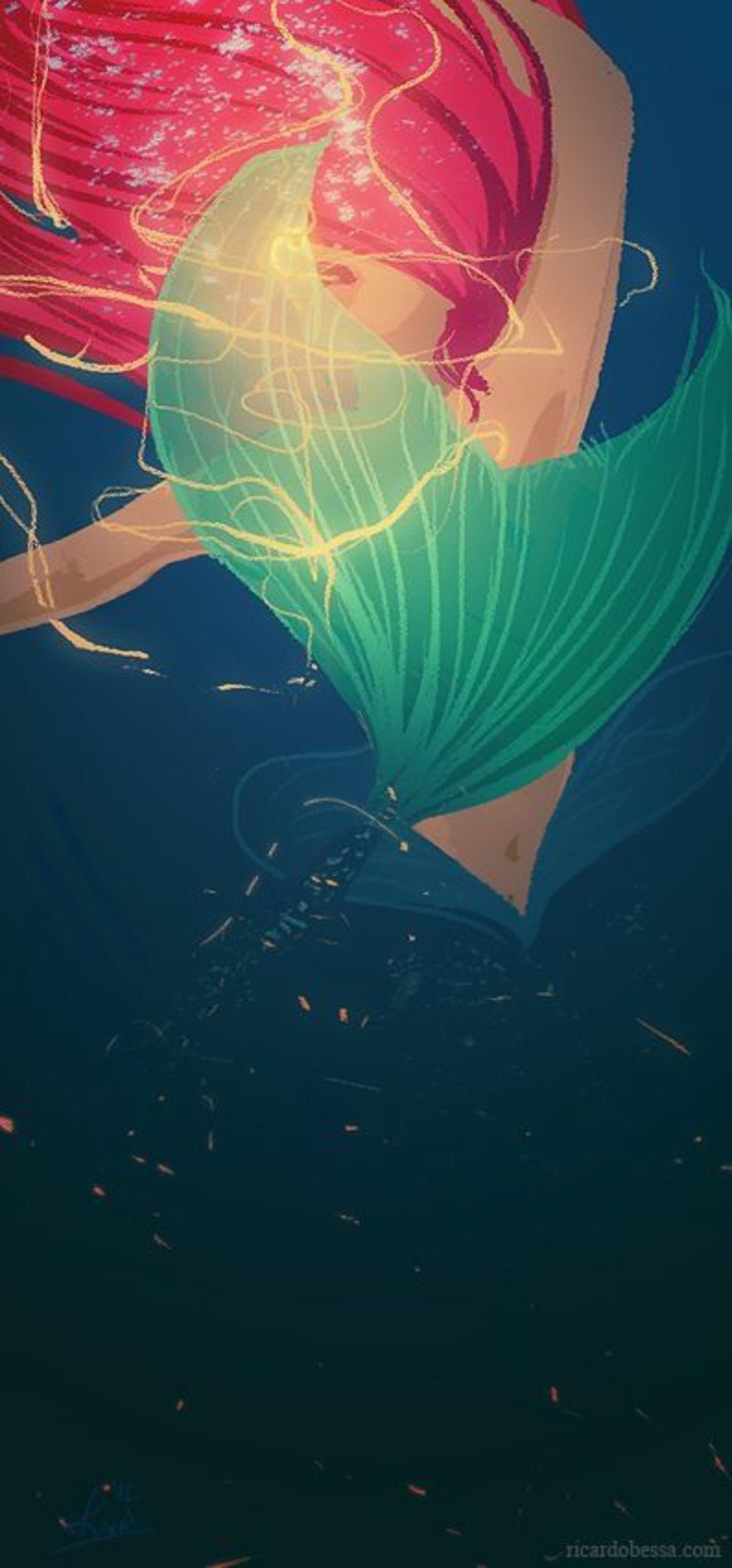 Wallpaper Little Mermaid Posted By Ryan Johnson