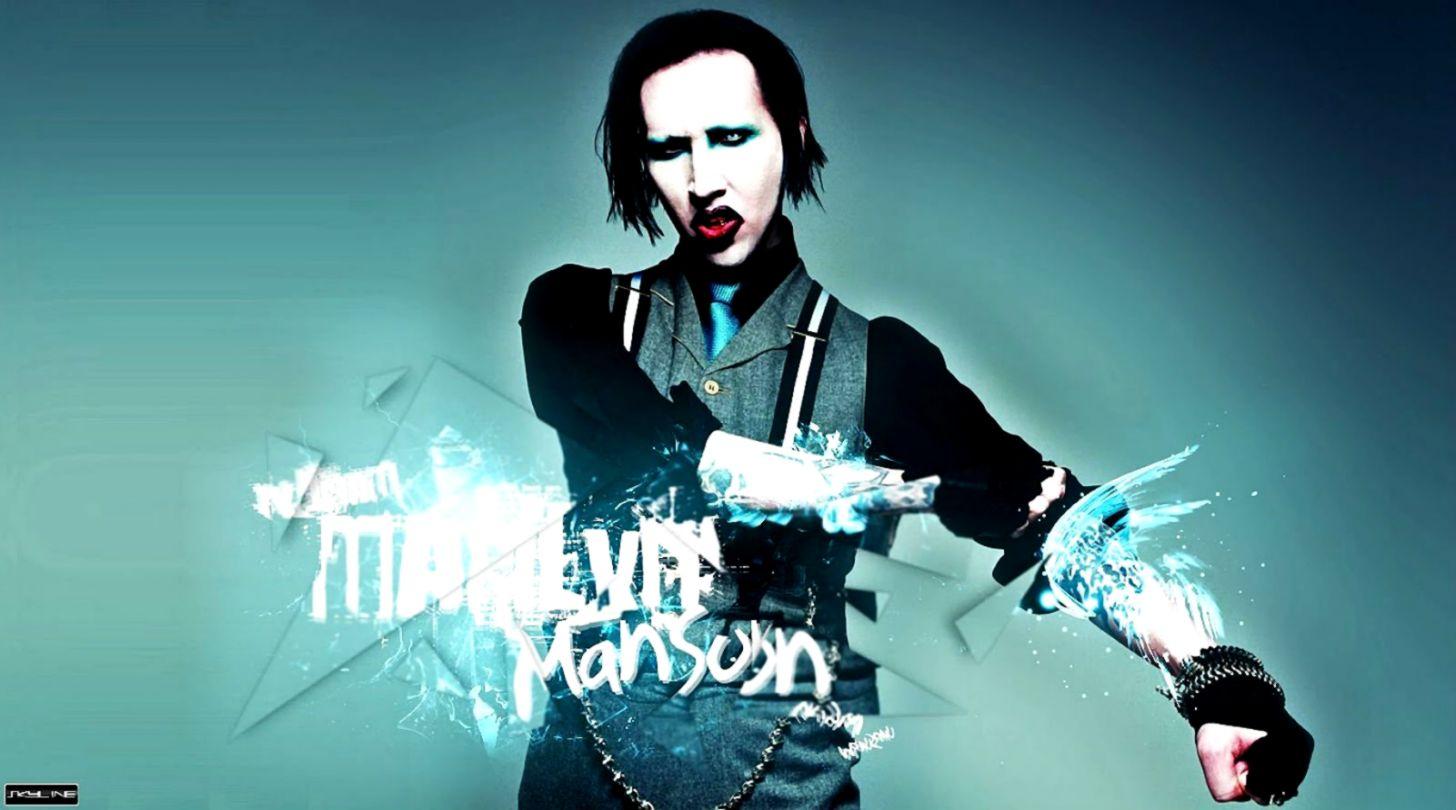 Wallpaper Marilyn Manson