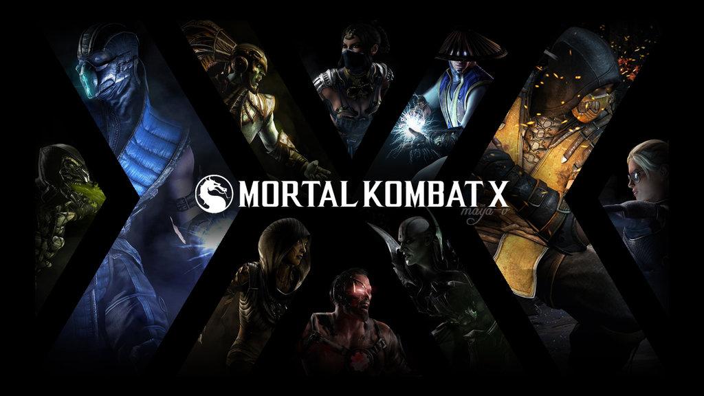 mortal kombat x scorpion iphone wallpaper